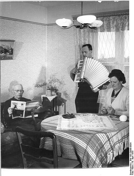 Accordion family. Source: German National Archives via the wikimedia commons