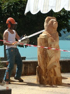 Chainsaw art in Brienz.  Source: wikipedia.org
